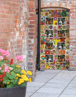 Close up ofTown Tile (artists impression)